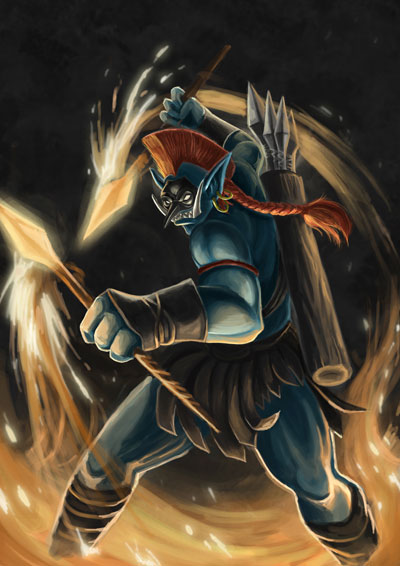 Huskar - Sacred Warrior