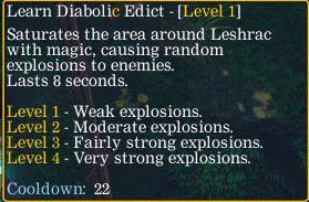 Learn Diabolic Edict