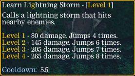 Learn lightning Storm