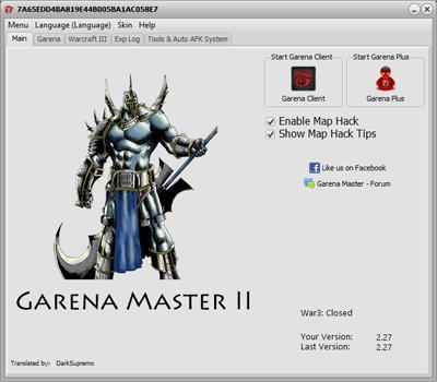 garena master 99.00